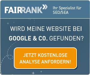 Fairrank _ Call to Action für Google-Analyse