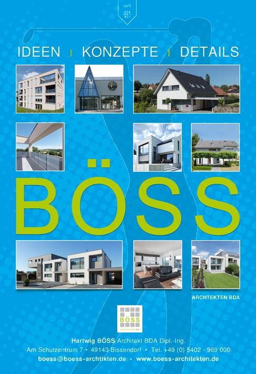 Anzeige – BÖSS-Architekten GmbH für eine Golfzeitschrift