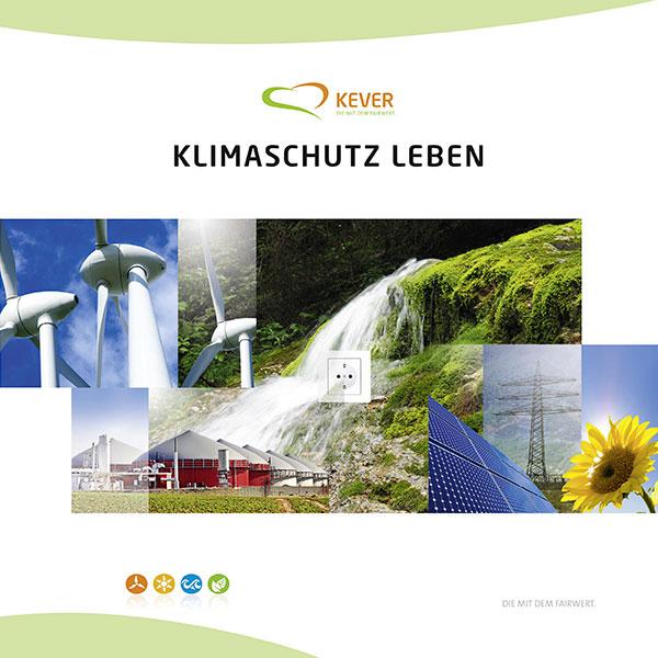 Titelseite der KEVER Imagebroschüre