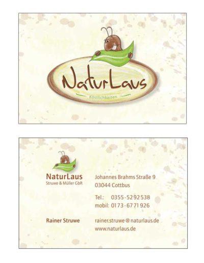 Visitenkarten – NaturLaus