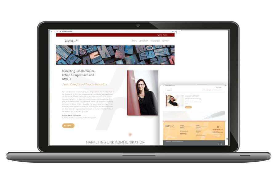 Webpräsenz von Silke Birkemeyer – KONZEPTplus in Preußisch Oldendorf