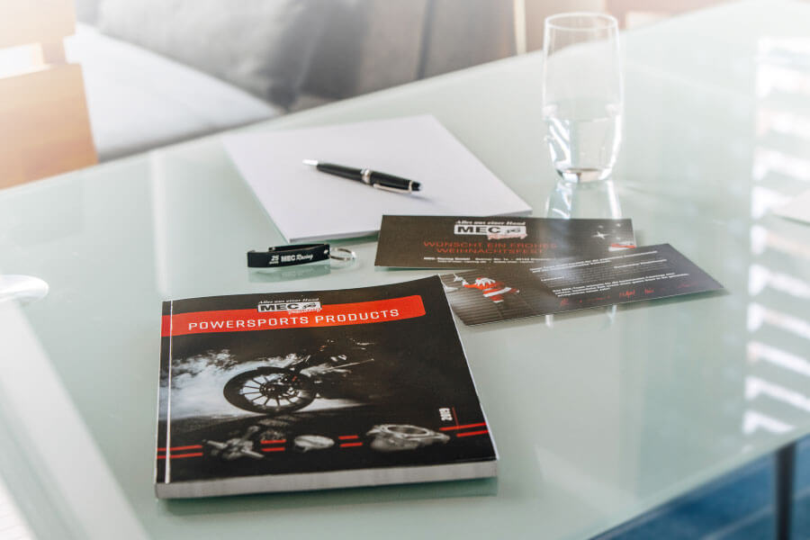 Corporate Design der Firma MEC-Racing aus Wulften / Bissendorf